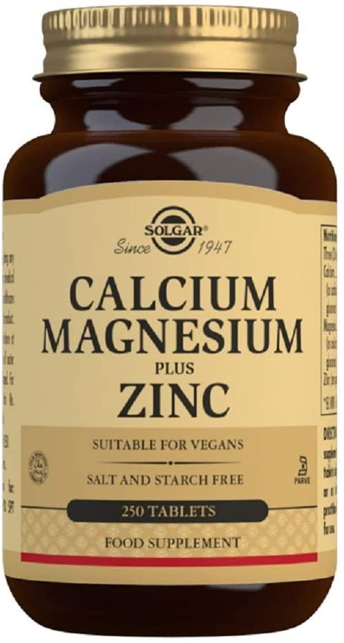 Solgar Cal Mag Zinc 250t
