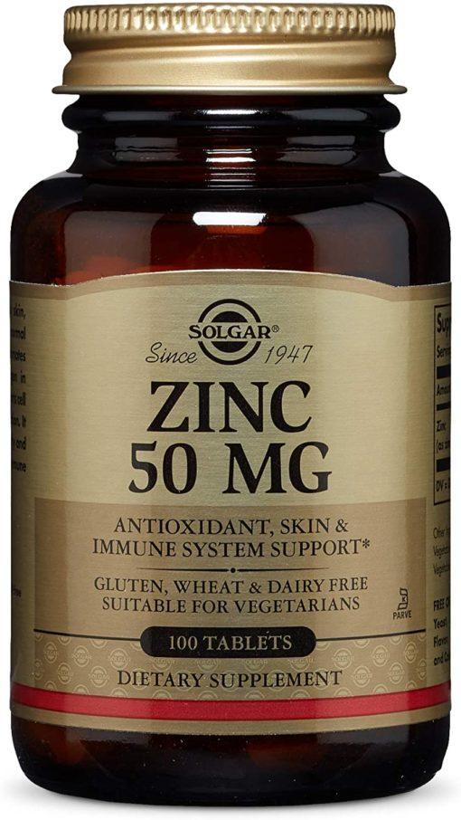 Solgar Zinc Pic 100tab