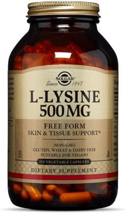 Solgar L Lysine 250tab