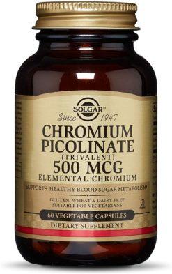 Solgar Chromium Pic 60ca
