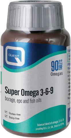 Quest Omegas 369 90caps