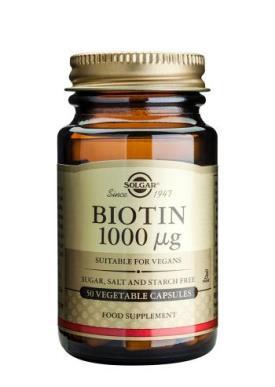 Solgar Biotin 1000ug 50c