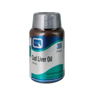 Quest Cod Liver Oil 30ca