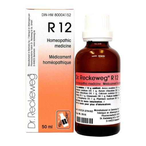 Dr Reckeweg R12 Drops 50 ml