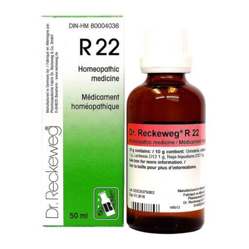 Dr Reckeweg R22 Drops 50 ml
