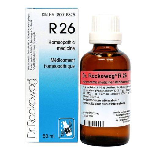 Dr Reckeweg R26 Drops 50 ml