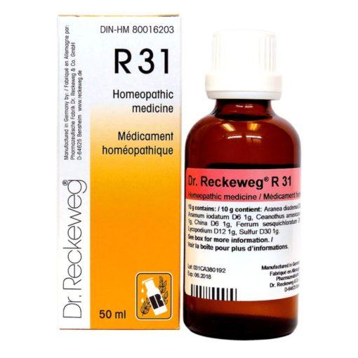 Dr Reckeweg R31 Drops 50 ml