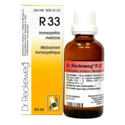 Dr Reckeweg R33 Drops 50 ml