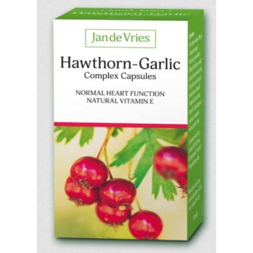 Jan De Vries Haw Garlic 90 Caps