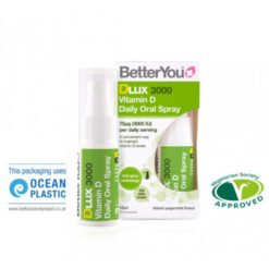 Better You DLux 3000 Vitamin D3 Oral Spray 15ml