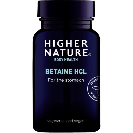 Higher Nature Bet HCL 90 Caps