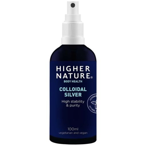 Higher Nature Colliodal Silver 100m