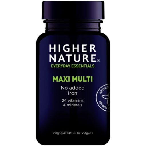 Higher Nature Maxi Multivitamin no Iron
