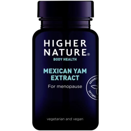 Higher Nature Mexican Yam Extract 90 Caps