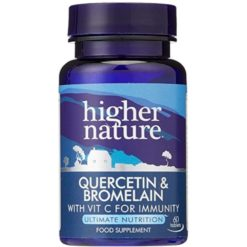 Higher Nature Querc Brom 60 Tablets