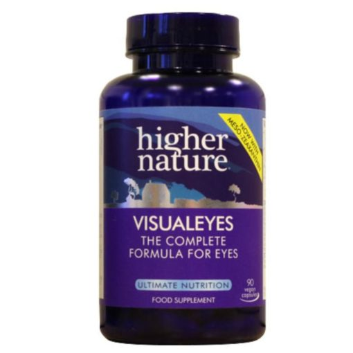 Higher Nature Visual Eyes 90 Caps