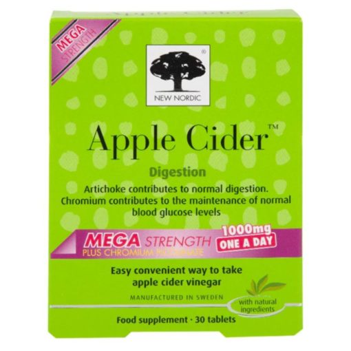 New Nordic Apple Cider 30 Tablets Me