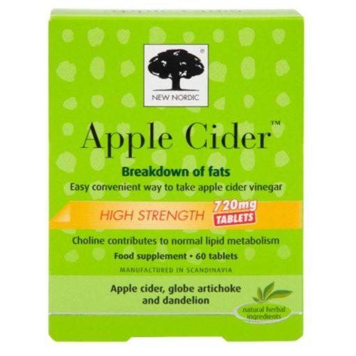 New Nordic Apple Cider 60 Tablets Hi