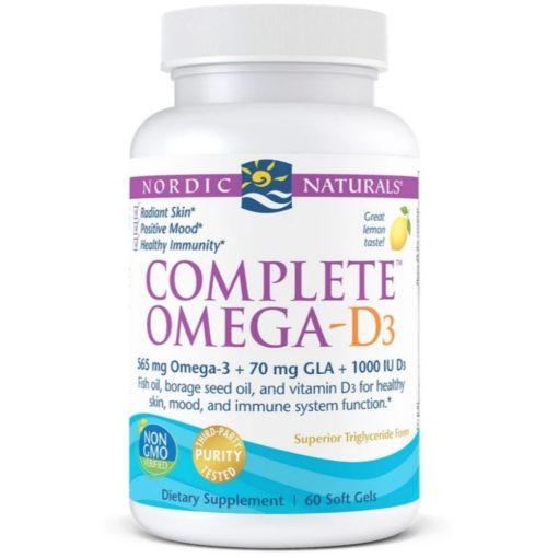 New Nordic Ult Omega Vitamin D3 60gels