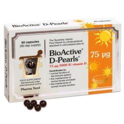 Pharma Nord D-Pearls 75ug 80 Capsules