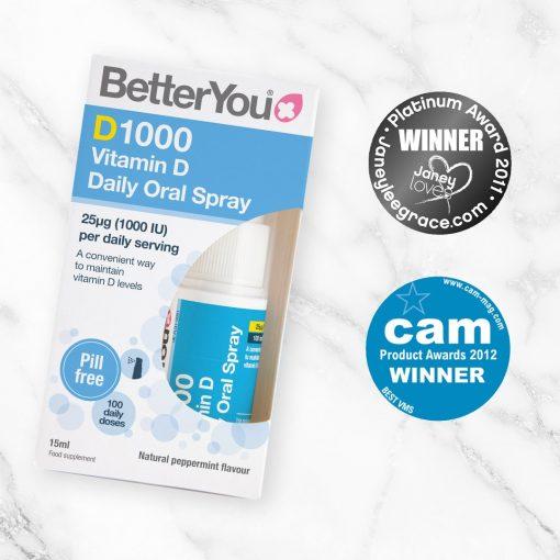 D1000 Vitamin D Oral Spray